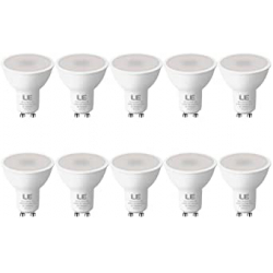 Chollo - Pack 10 Bombillas LED empotrables GU10 5W