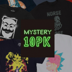 Chollo - Pack 10 Camisetas Frikis Misteriosas