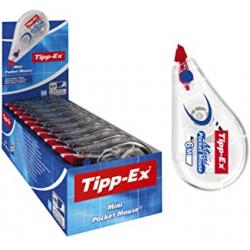 Chollo - Pack 10 Cintas correctoras Tipp-Ex Mini Pocket 5mm x 6m