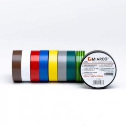 Chollo - Pack 10 Rollos Cinta aislante Miarco M13 20MX19MM