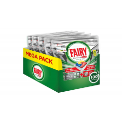 Chollo - Pack 100 Cápsulas Fairy Platinum Plus Limón (5x20)