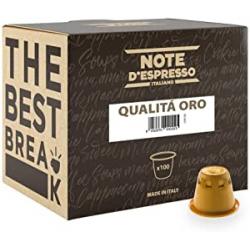 Chollo - Note D'Espresso Qualità Oro Pack 100 cápsulas para Nespresso