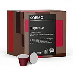 Chollo - Pack 100 Cápsulas Solimo compatibles con Nespresso