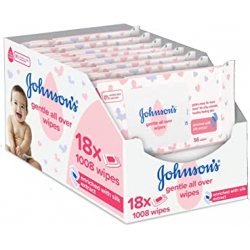 Chollo - Pack 1.0008 Johnson's Baby CottonTouch Toallitas Infantiles (56x18)