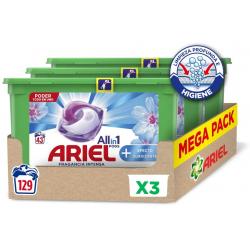 Chollo - Pack 129 Ariel Allin1 PODS Efecto Suavizante (3x 43 cápsulas)