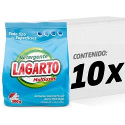 Chollo - Pack 10x Detergente Lagarto Multiusos Ecopack (10x500g)
