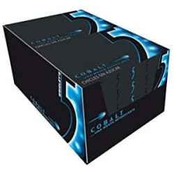 Chollo - Pack de 10 Estuches de 12 Chicles sin azúcar 5 Five Cobalt 29g