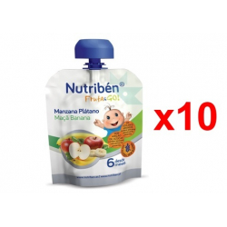 Chollo - Pack 10x Nutriben Fruta And Go! (10x90g)