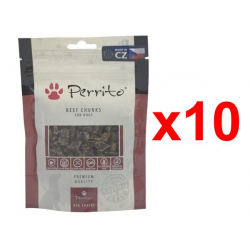 Pack 10x Snacks Perrito Beef Chunks (10x 100g)