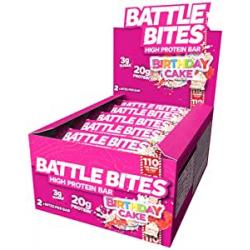 Chollo - Pack 12 Barritas Proteína Battle Bites (12x62g)