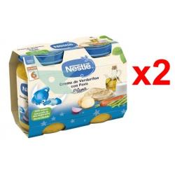 Chollo - Pack 12 Tarritos Nestlé crema Verduritas con Pavo (12x200g)
