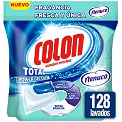 Chollo - Pack 128 cápsulas Colon Fragancia Fresca y Única Nenuco