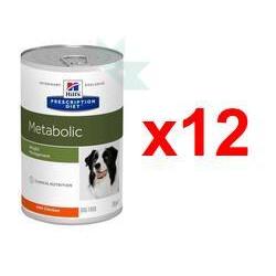 Chollo - Pack 12x Hill's Metabolic Prescription Diet (12x370g)