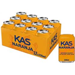 Chollo - Pack 12x Kas Naranja Lata (12x330ml)