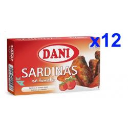 Chollo - Pack 12x Latas Sardinas en tomate Dani (12x120g)