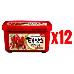 Chollo - Pack 12x Pasta de Pimiento Picante Gochujang Sempio (12x1kg)