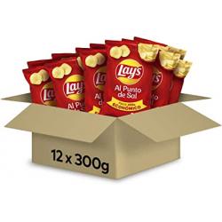 Chollo - Pack 12x Patatas fritas Lay's al Punto de Sal (12x300g)