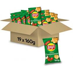Chollo - Pack 19x Patatas fritas Lay's Campesinas 19x160g