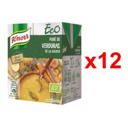 Chollo - Pack 12x Puré de Verduras de la Huerta Eco Knorr (12x300ml)