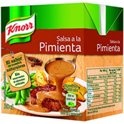 Chollo - Pack 12x Salsa a la Pimienta Knorr 12x300ml