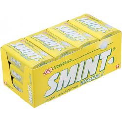 Chollo - Pack 12x Smint Tin Limón Caramelos sin azúcar Pack 12x 35g