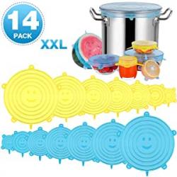 Chollo - Pack 14 Tapas de silicona Modohe (varias medidas)