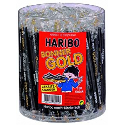 Chollo - Pack 150 Palos de Regaliz Haribo Bonner Gold (2.7kg)
