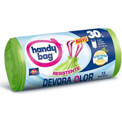 Chollo - Pack 15x Handy Bag Bolsas de Basura 30L