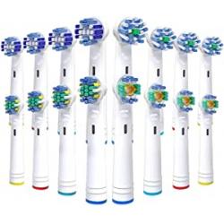 Chollo - Pack 16 cabezales de recambio Vibeey para Oral-B