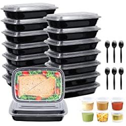Chollo - Pack 16 Fiambreras + 6 Tazas + 6 Cucharas Gifort