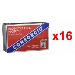 Chollo - Pack 16 Latas Consorcio Bonito del Norte en Aceite de Oliva (16x110g)