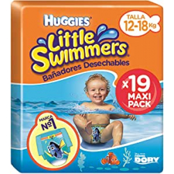 Chollo - Pack 19x Huggies Little Swimmers Pañales acuáticos