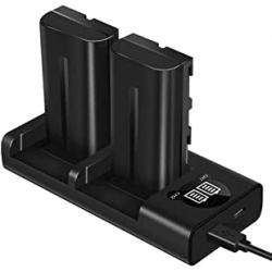 Chollo - Pack 2 Baterías ESDDI para Cámaras Sony + Cargador (varios modelos)