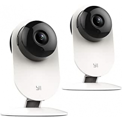Chollo - Pack 2 Cámaras IP Yi Home Camera Wifi 720p