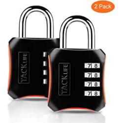 Chollo - Pack 2 Candados de combinación Tacklife HCL3B