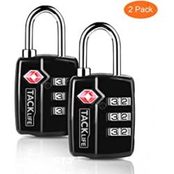 Chollo - Pack 2 Candados TSA Tacklife HCL3A