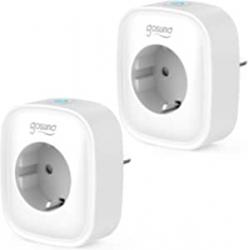 Chollo - Pack 2 Enchufes inteligentes Gosund SP1 WiFi 3680W 16A