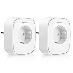 Chollo - Pack de 2 Enchufes Inteligentes Teckin SP22 Smart Socket