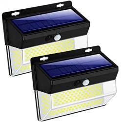 Chollo - Pack 2 Focos LED solares con sensor de movimiento Zhenren 2x262LED