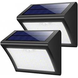 Chollo - Pack 2  Focos Solares con Sensor de Movimiento (2x60 LED)