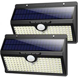 Chollo - Pack 2 Focos Solares iPosible con Sensor de Movimiento (2x138LED)