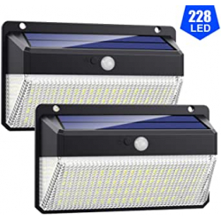 Chollo - Pack 2 Focos Solares VOOE 228 LED