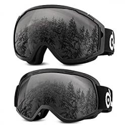 Chollo - Pack 2 Gafas de Esquí y Snowboard Odoland (Adultos + Niños)