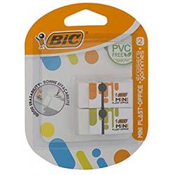 Chollo - Pack 2 Gomas de Borrar BIC Mini Plast-Office