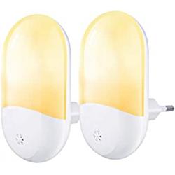 Chollo - Pack 2 Luces nocturnas Acadgq con sensor de luz