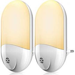 Chollo - Pack 2 Luces nocturnas con sensor Bicaslove