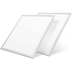 Chollo - Pack 2 Paneles LED ultrafinos LVWIT (59.5x59.5cm)