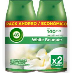Chollo - Pack 2 Recambios Air Wick Freshmatic White Bouquet (2x250ml)
