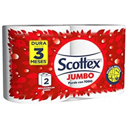 Chollo - Pack 2 Rollos de Cocina Scottex Jumbo