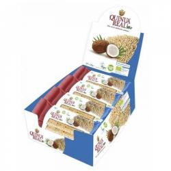 Chollo - Pack 20 Barritas Ecológicas Quinua Real y Coco (20x20g)